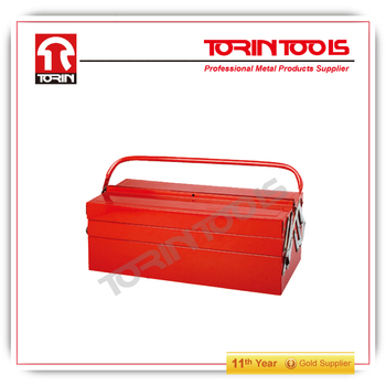 Cantilever tool box with trays 2015 cheap protable metal tool box