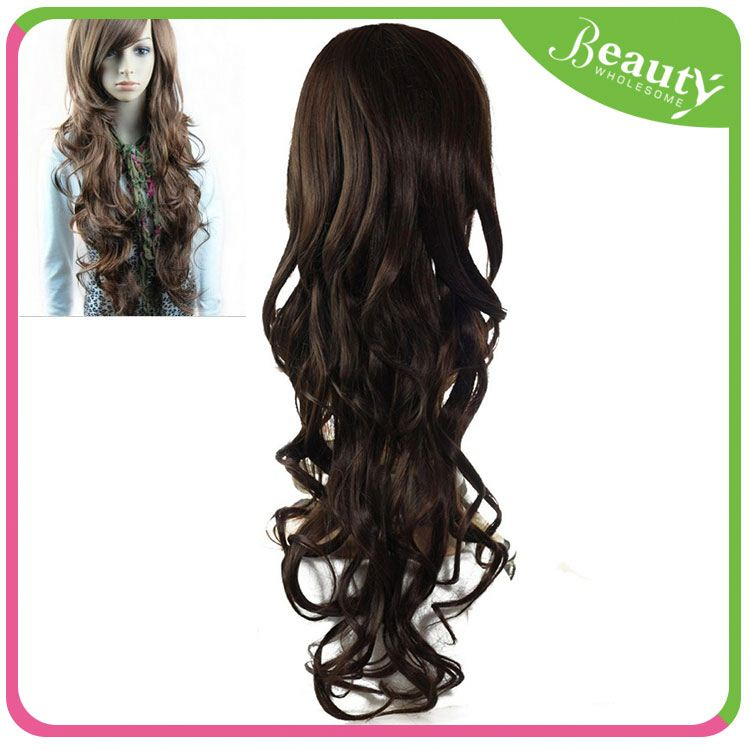 Full lace / lace front wig jerry curl H0Tv35 long wig