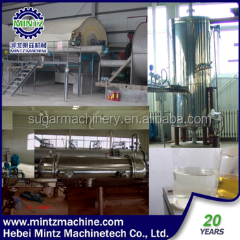ISO stainless steel Rice Maltose Syrup Production line Engineers available to service machinery overseas