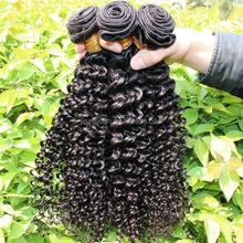 wholesale price 100% full stay natural dyeable malaysian deep curly hair weft