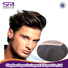 cheap super thin skin new image french lace high quality virgin human hair piece men's toupee for afro black man sale