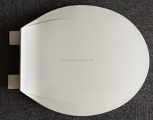 Beautiful round plastic Non-slow down low cost toilet seat F2022