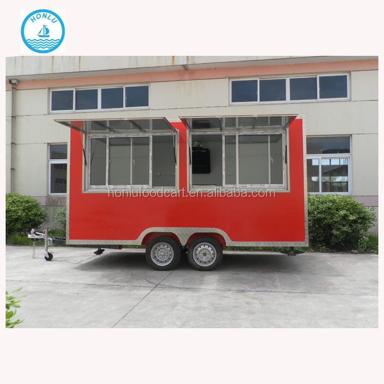 New shape fruit frozen yogurt kiosk outdoor coffee kiosk/food display vending kiosk