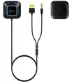 3.5mm audio jack AUX to phone music USB cable charger Bluetooth receiver handsfree car kit