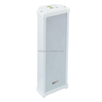 Supplied with a 100 V line matching transformer with full waterproof column pa speaker