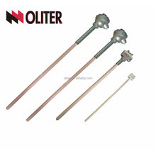 thermocouple response time rod readout reference reference temperature junction reader reading low ratings