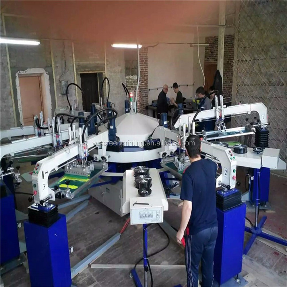 Cylinder head machine for garment printing automatic screen printing machine with best price