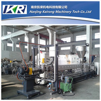 Starch plastic compounding plastic pelletizing machine price