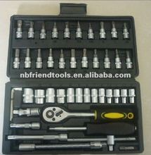 "46PCS 1/4"" Dr SOCKET SET"