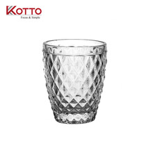 270ml classical Diamond tumblers/soda/milk/juice/ glass cup/kotto glass cup