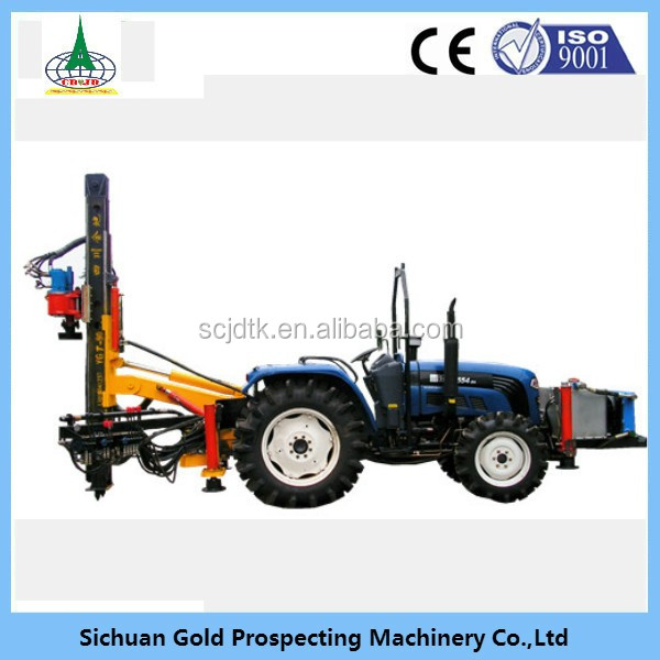 YGT-90 earth auger drilling rig machine price for excavator used
