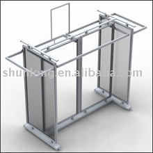 rotating clothes rack for shops