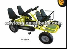 Dual person go car, go-kart/pedal 4 wheels surrey bikes F4150