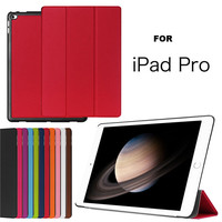 New Arrival 2016 Ultra thin leather flip cover Case For iPad Pro,For Apple iPad Pro 12.9 Inch