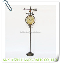 LC-89210 modern home metal decoration antique floor standing clocks