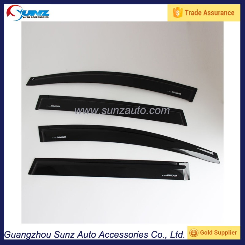 Toyota Innova 2016 Car Weather Guard Injection Door Rain Shield Sun Visor