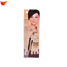 wanli brand fashion custom PP PET PVC personal care packaging eyebrow pencil plastic packing box