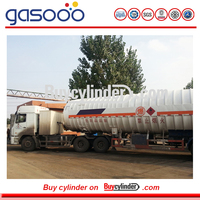 5 m3 to 55.6M3 Tanker Truck for Liquid Gases