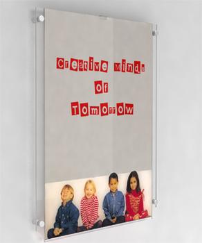 u shape bending acrylic sheet poster frame a3 a4 a5 size
