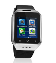 ZGPAX S8 Android 4.4 Dual Core Gear Smart Watch Phone Wrist Wrap Watch Phone/1.54inch LG Multi-point Touch Screen+3G WCDMA/Bluet