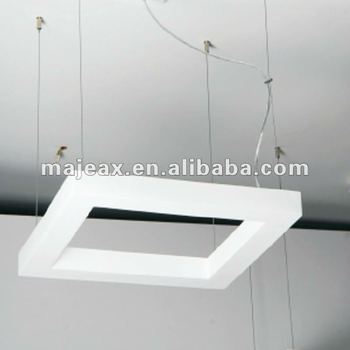 CE ROHS plaster gypsum simple modern hanging light