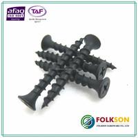 Taiwan black phosphate drywall screw