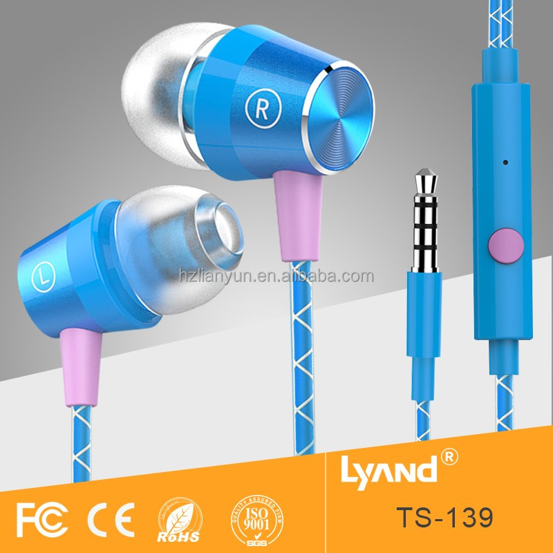 Small QTY factory price headphone sports earphone
