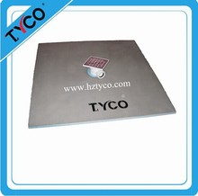 high base Reinforced and waterproof deep shower tray xps base fiberglass cement board