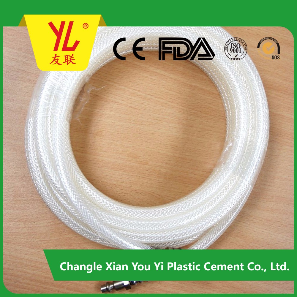 Hot sell ISO9001 PVC 3 layer farming water hose