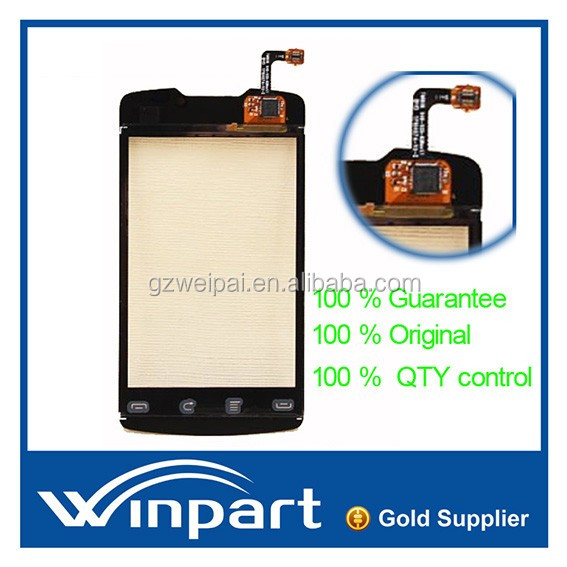 [win part]Whoesale low price Full tested Touch Screen Digitizer For Huawei cm980 replacement black color