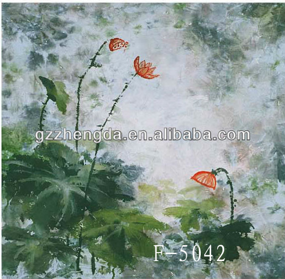 China Suppliar Countryside Garden Floral Views Background For Photo Display