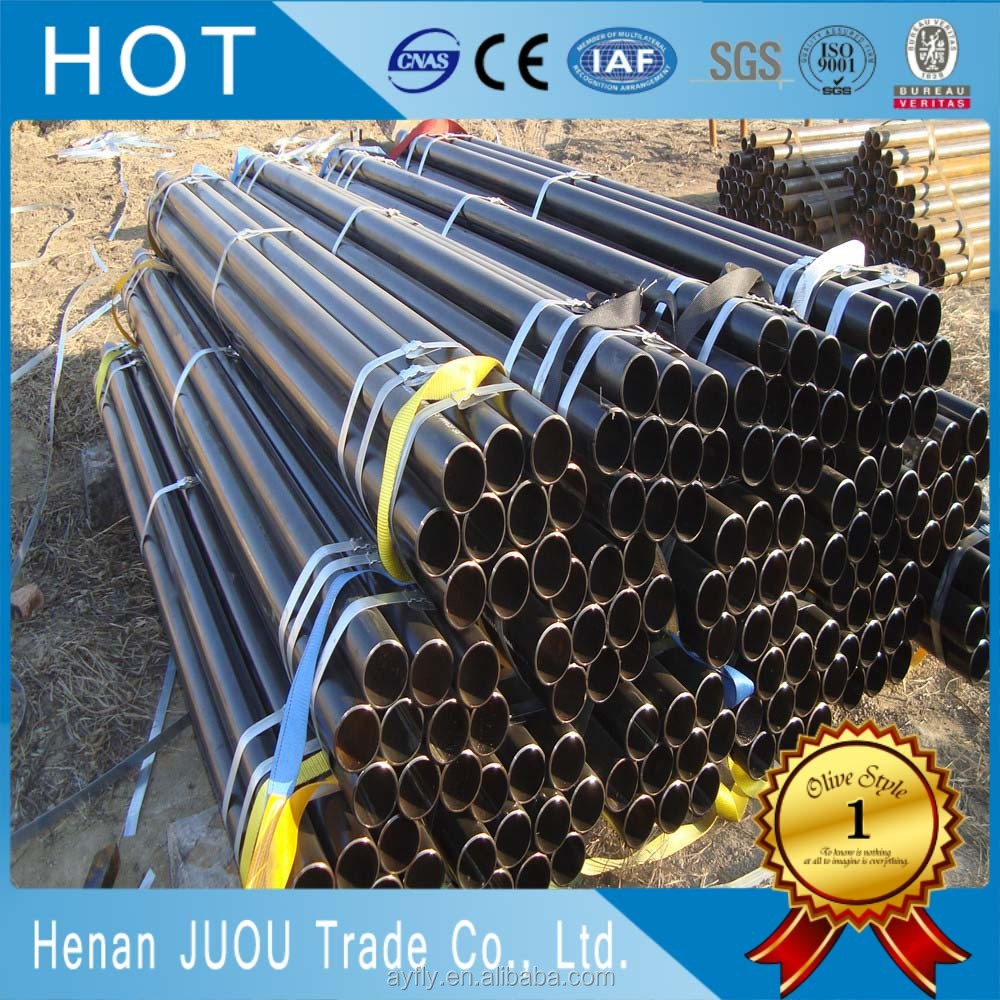 No welding seam din 2448 st35.8 seamless carbon steel pipe