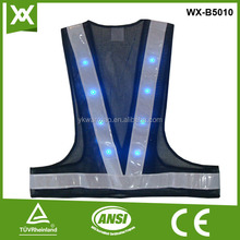 High quality reflective mesh horse riding safety vest