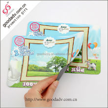 Made in China multi function cute square soft magnet photo frame