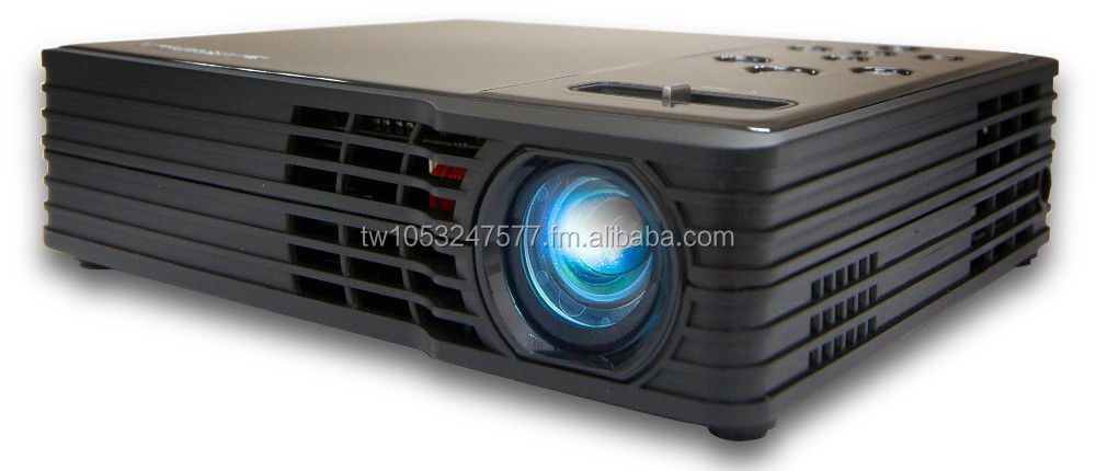 LED Projector, HD 720p, 500 Lumens, Micro Projector