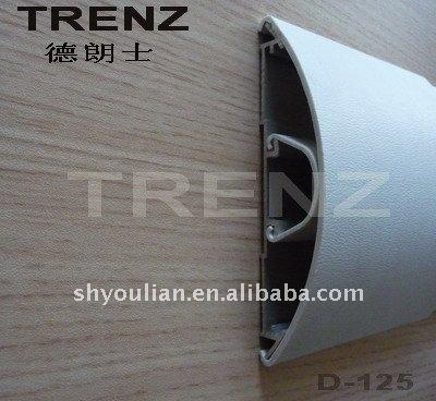 PVC Wall Accent Rail, Vinyl Hospital Wall Guard