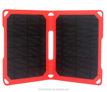 Shine Low price 10 W solar panel Ultra-thin solar panels foldable Sunpower solar charger 5V solar panel china