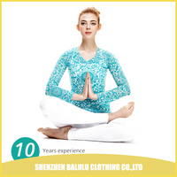 China factory supply wholesale evcellent anti-bacteria yoga fitness wear for women
