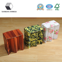 New style Customized Children Folding Colorful paper stool