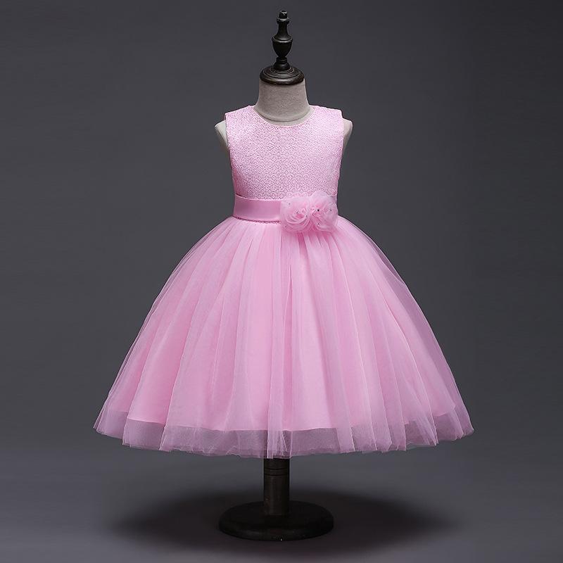 Venta al por mayor vestidos de un año de niña-Compre online los ...