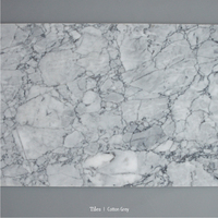 Cheap marble titles cotton grey natural stone