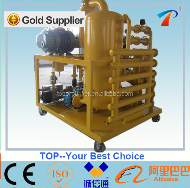 Online transformer oil filter machine series zyd,restores the oil's breakdown voltage