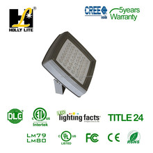 ETL and DLC listed 40W LED flood light for Americian market,tradition HID lamp 150W Metal Halide flood lights replacement
