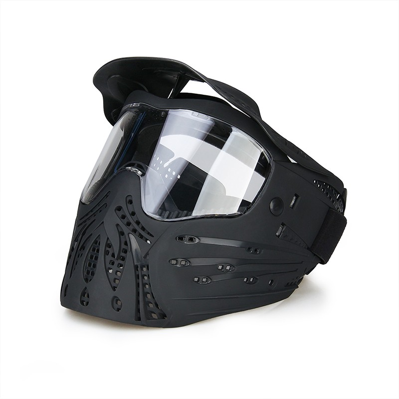 Outdoor tactical full face mask safety mask for hunters CL9-0059