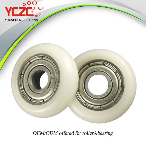 small rubber wheels with bearings