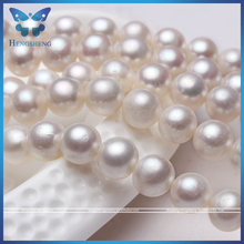 8-9mm natural white off round shape cheap price aa freshwater pearl strand