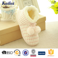 Adult knitted indoor beauteous bootie