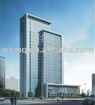 Curtain Wall for Land & Resource Bureau Wuxi
