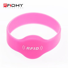 Silicon Rubber Reusable Wristband ID Bracelets for Event
