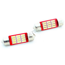 Led Festoon Size 36mm 39mm 41mm Dome Light 12SMD 4014 SMD CANBUS Car Interior Bulbs c5w License Plate Lights 12v New